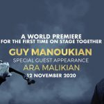 Guy Manoukian and Ara Malikian at Dubai Opera