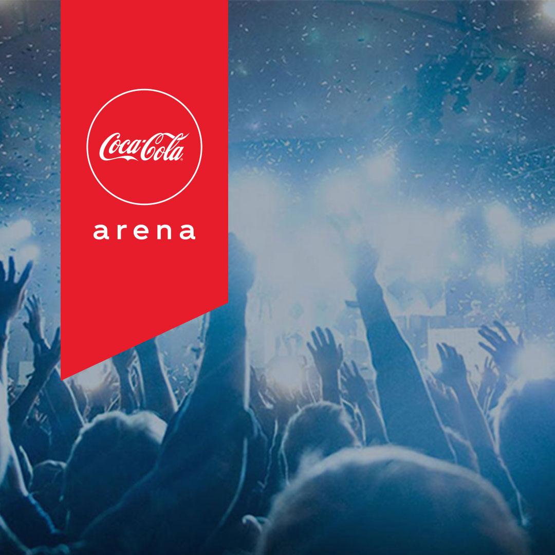Hamza Namira at Coca-Cola Arena – 2021 Event in Dubai, UAE