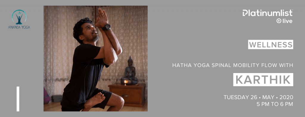 Hatha Yoga with Karthik
