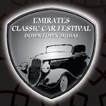 Emirates Classic Car Festival, Events in Dubai, 2014, UAE, Classic Car Festival, Downtown Dubai, classic cars and motorcycles, Mohammed Bin Rashid Boulevard