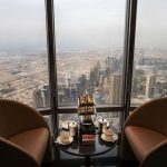 Highest lounge in world at Burj Kalifa Dubai