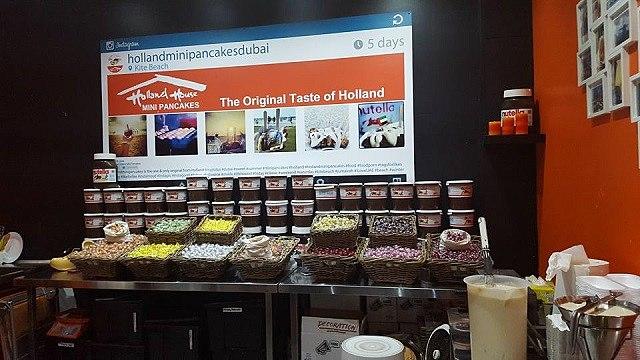 Holland House Mini Pancakes, Kite Beach, Dubai