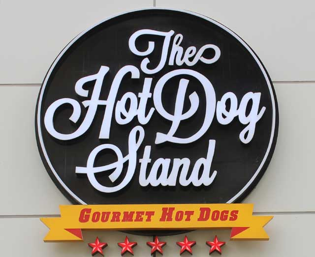 The Hot Dog Stand - Dubai, UAE.