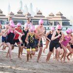 Ignite Pink is Punk Swim Run Dubai 2019