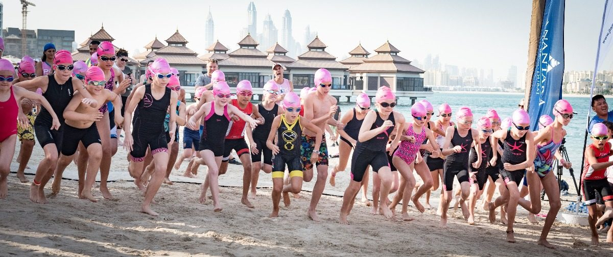 Ignite Pink is Punk Swim Run Dubai 2019