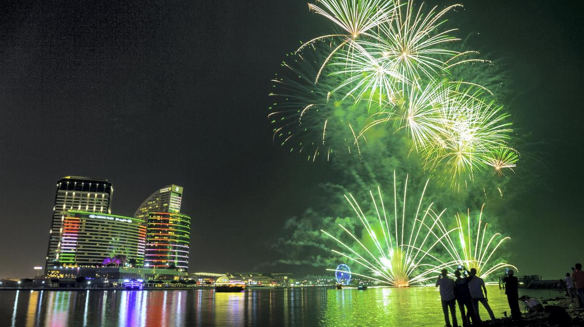 Imagine Show for Saudi National Day Celebrations in Dubai 2019