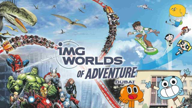 IMG Worlds of Adventure - Dubai, UAE.