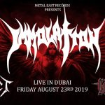 Immolation Live Concert in Dubai