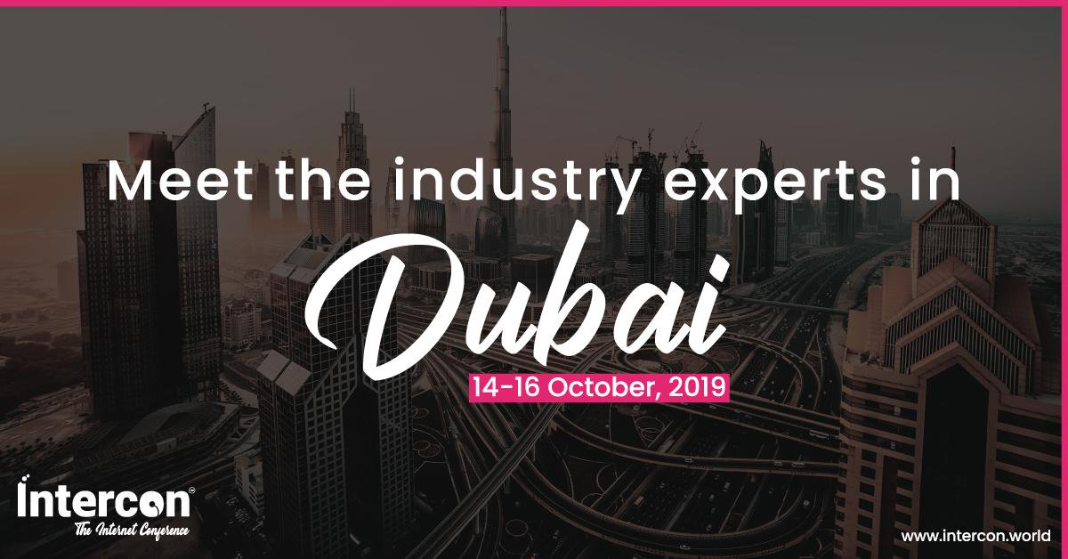 Intercon Dubai 2019 on 14th – 16th Oct at Grand Hyatt