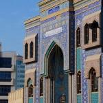 Iranian Mosque Dubai, Imam Hossein Mosque, Dubai, UAE, Jumeirah , quasi-Fatimid Style, Sheikh Mohammed Centre for Cultural Understanding