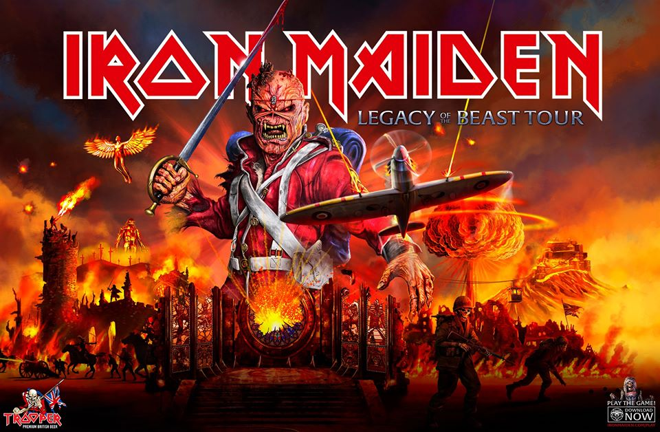 Iron Maiden Live on May 27th at Coca-Cola Arena Dubai