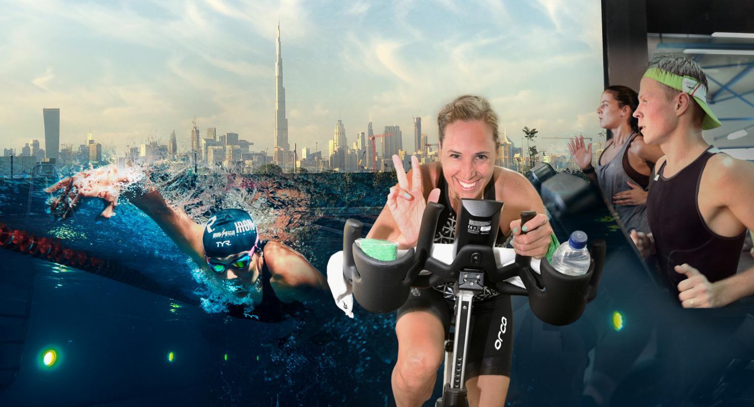 IRONSTAR Indoor Triathlon: Race 3 on Sep 5th at Max and Aegle, Nad Al Sheba Dubai 2020