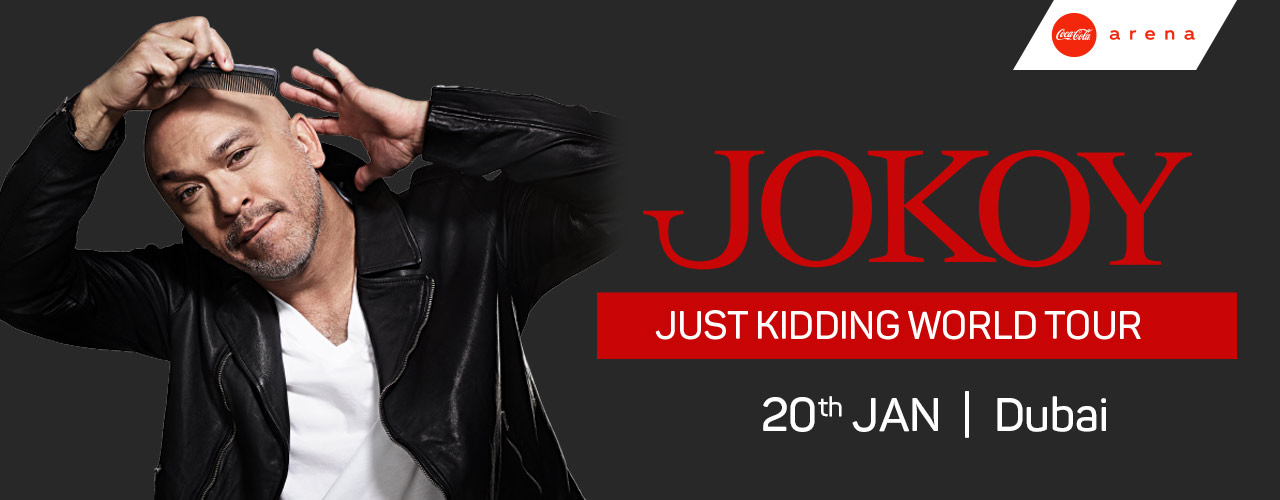 Jo Koy Live on Jan 20th at Coca-Cola Arena Dubai 2020