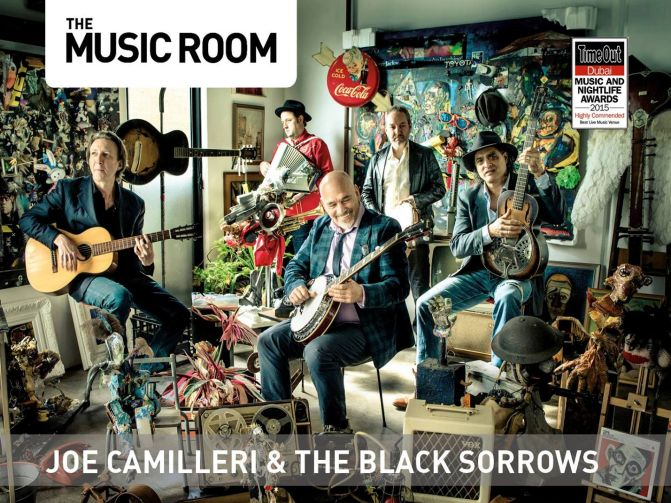 Joe Camilleri & The Black Sorrows Live in Dubai, UAE