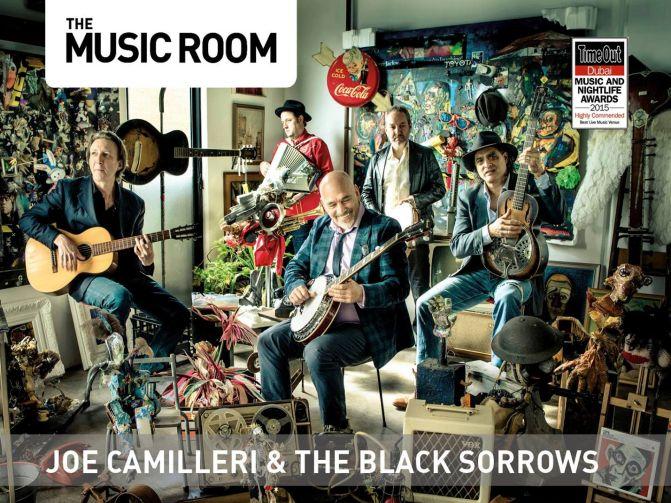 Joe Camilleri & The Black Sorrows Live in Dubai, UAE
