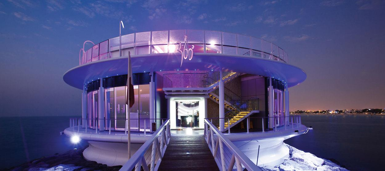 360 night club Dubai, 360 night club Dubai, Jumeirah Beach Hotel's Marina walkway, Duabi,UAE, dining experience, places to visit
