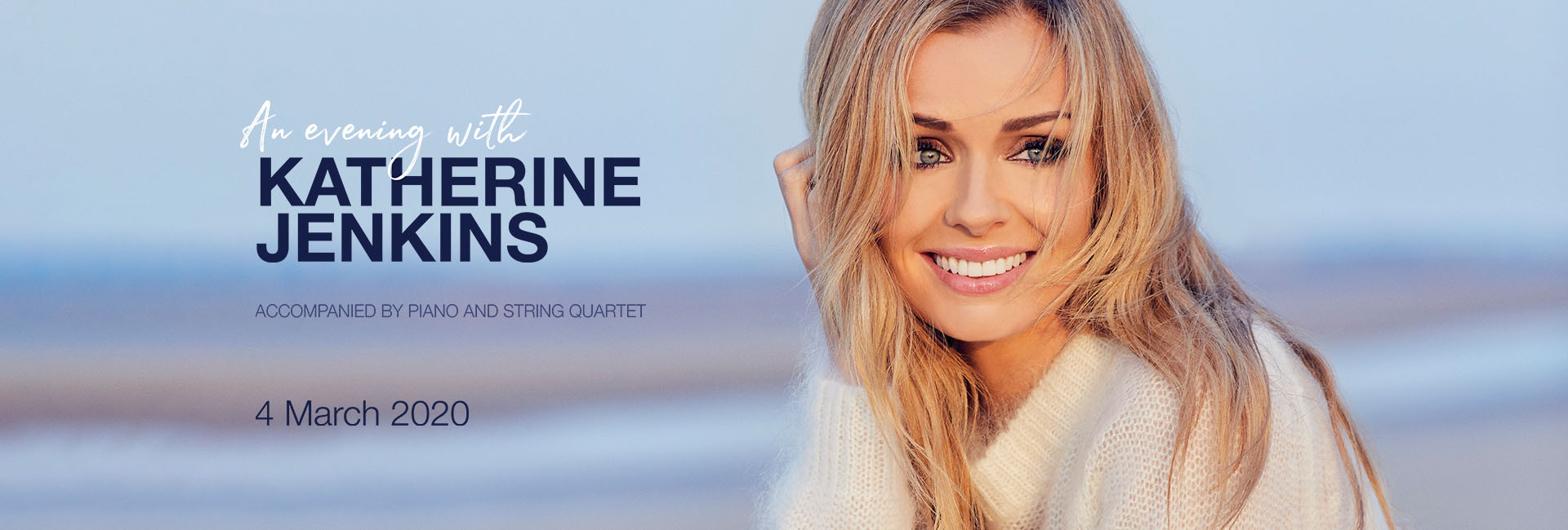Katherine Jenkins Live on Mar 4th at Dubai Opera