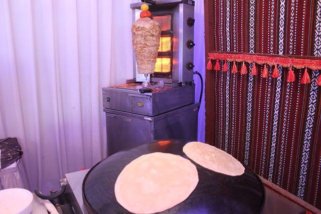 Kempinski Ajman Iftar Tent 2016 - Shawarma