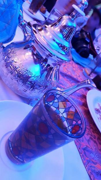 Kempinski Ajman Iftar Tent - Moroccan Tea