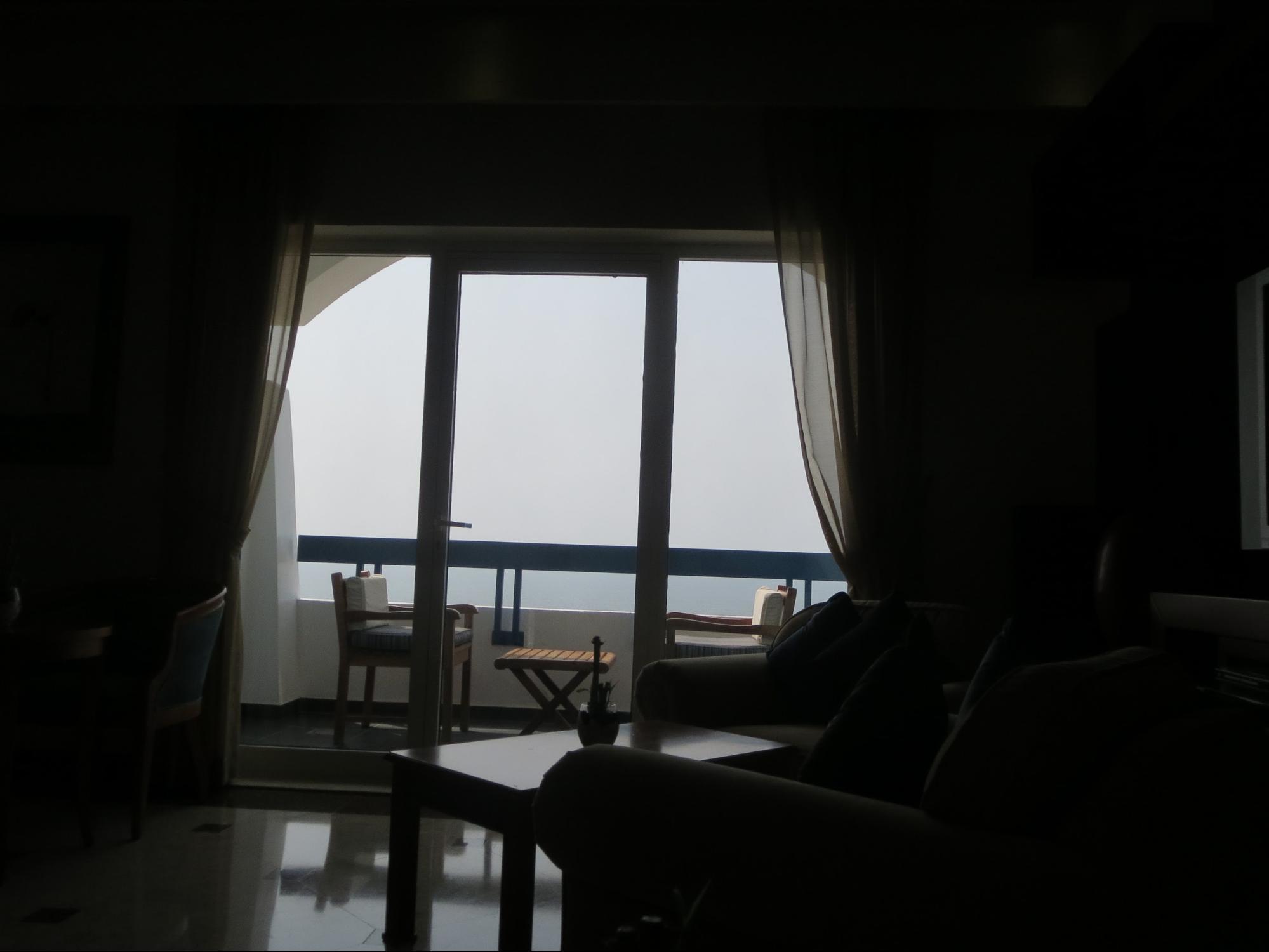 Kempinski Hotel, Ajman Review - Bedroom Balcony