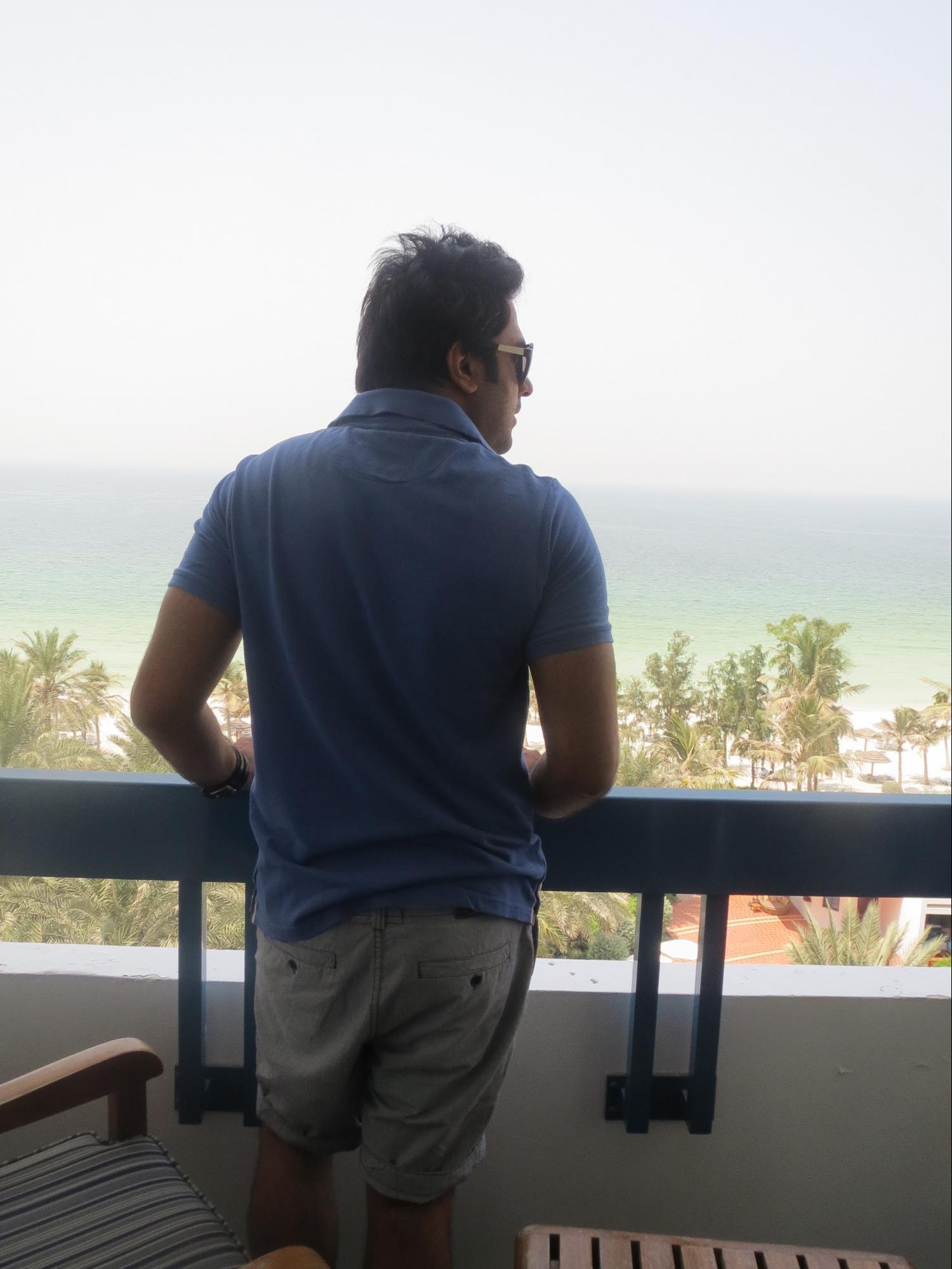 Kempinski Hotel, Ajman Review - Balcony Outside View