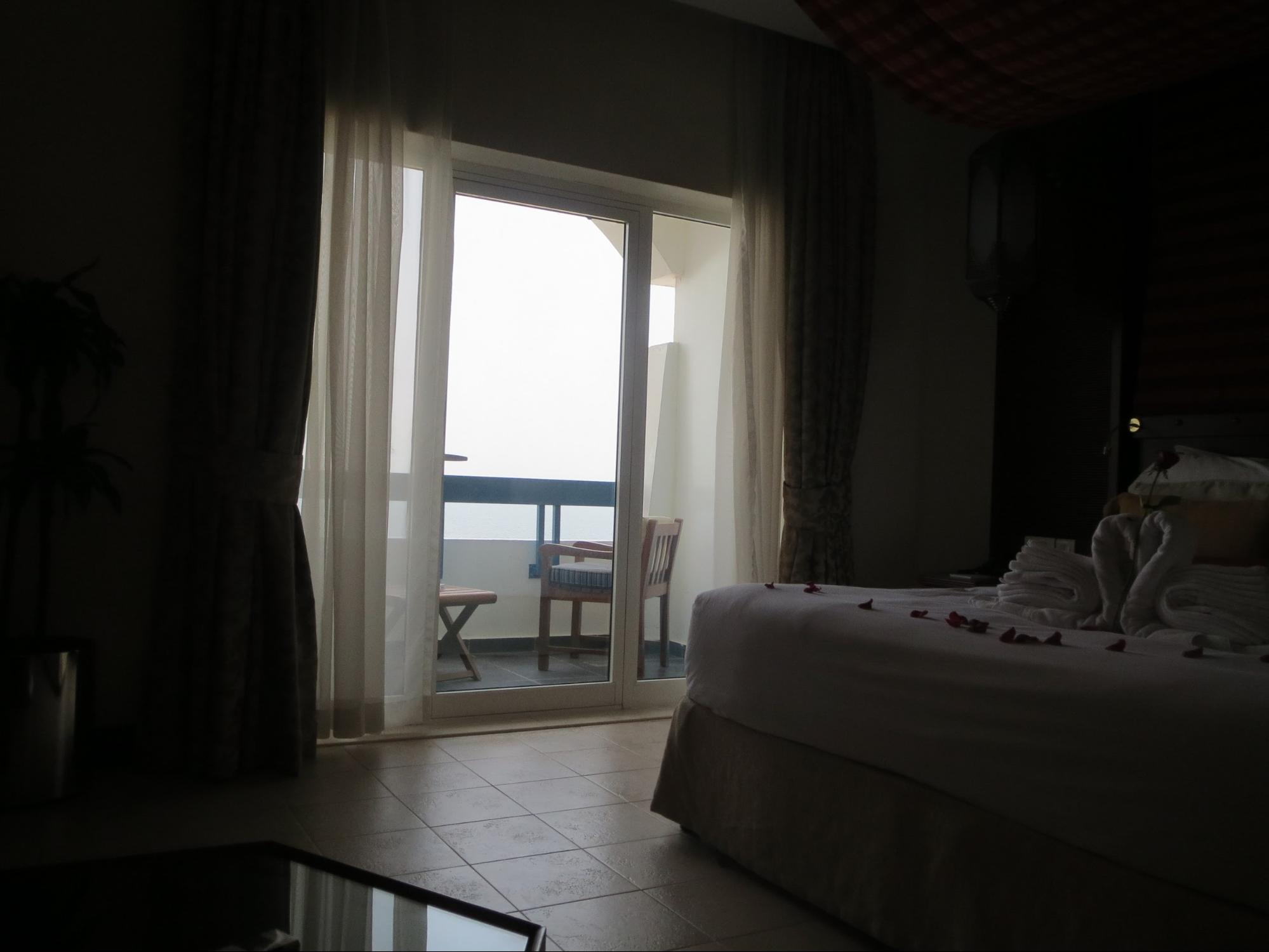 Kempinski Hotel, Ajman Review - Room Balcony