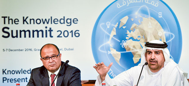 The Knowledge Summit 2016 – Events in Dubai, UAE.