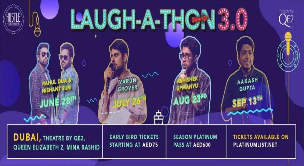 Laughathon Presents Abhishek Upmanyu Dubai 2019