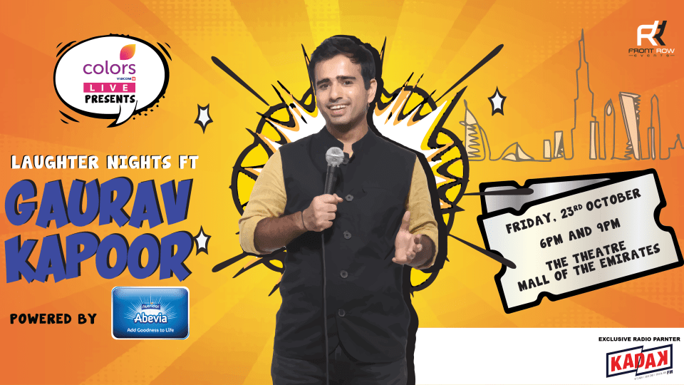 Laughter Nights Presents Gaurav Kapoor Dubai 2020