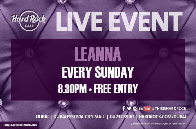 Leanna Kerry Live in Dubai 2019