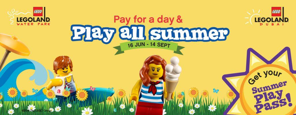 Legoland Summer Play Pass Dubai 2019