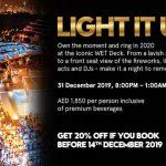 Light It Up at Wet Deck Dubai