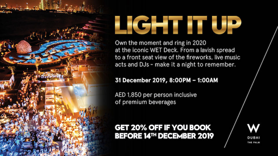 Light It Up at Wet Deck Dubai