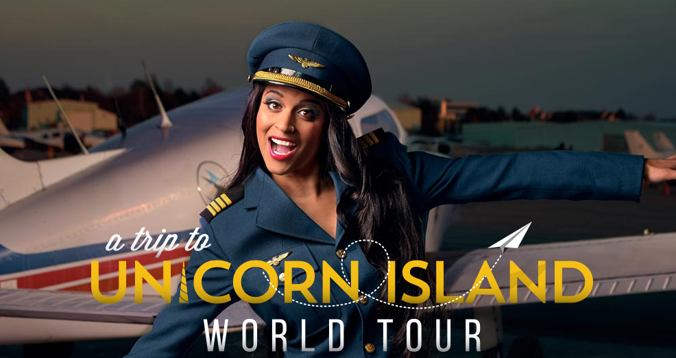 "Lily Singh's ""A Trip To Unicorn Island"" World Tour in Dubai"