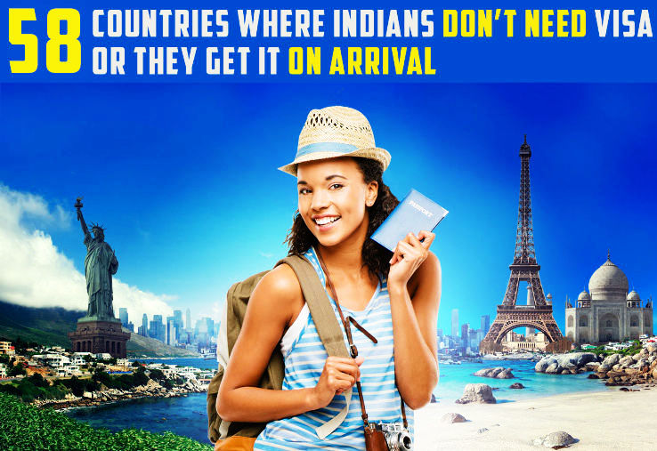 List of 58 Visa-Free countries for Indians