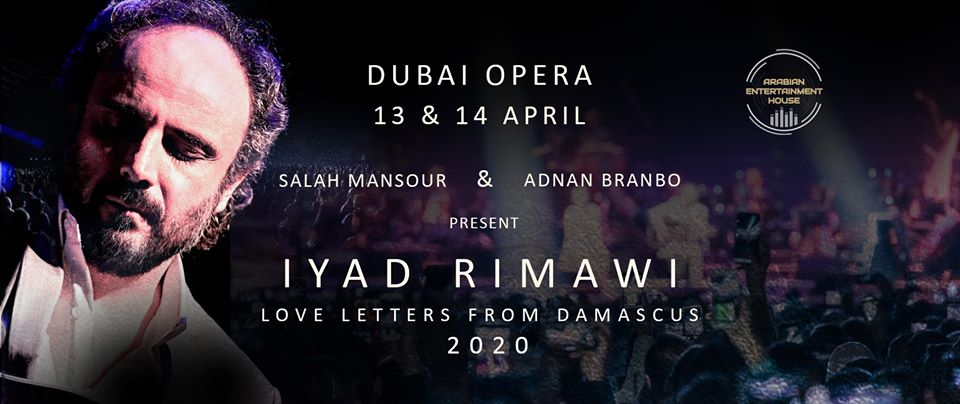 Love Letters from Damascus on Apr 13th – 14th at Dubai Opera