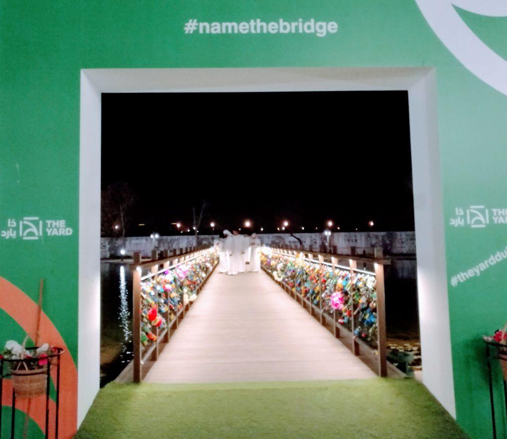 Love lock Bridge Dubai