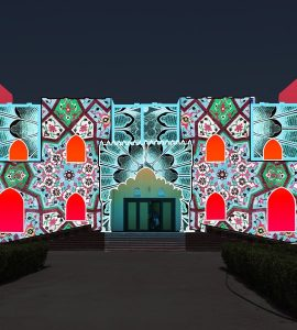 Magic Wonder - Sharjah Light Festival 2018