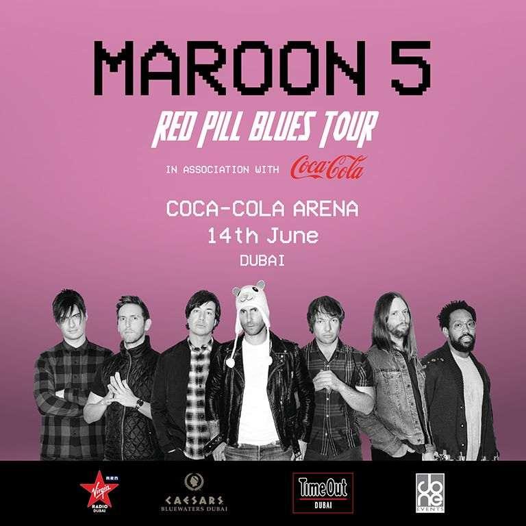 Maroon 5 Live in Dubai