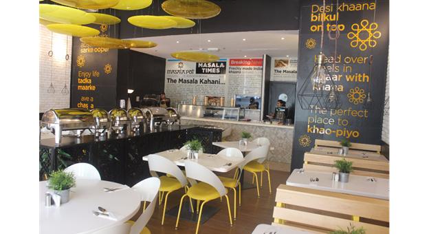 Masala Pot Restaurant Interior - Business Bay Dubai UAE Review