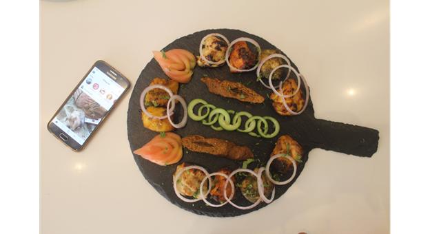Masala Pot's non veg mixed platter - Masala Pot Restaurant Review