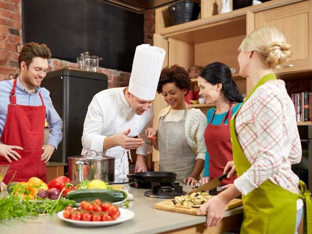 Masterclasses at Dubai Food Festival - culinary class.