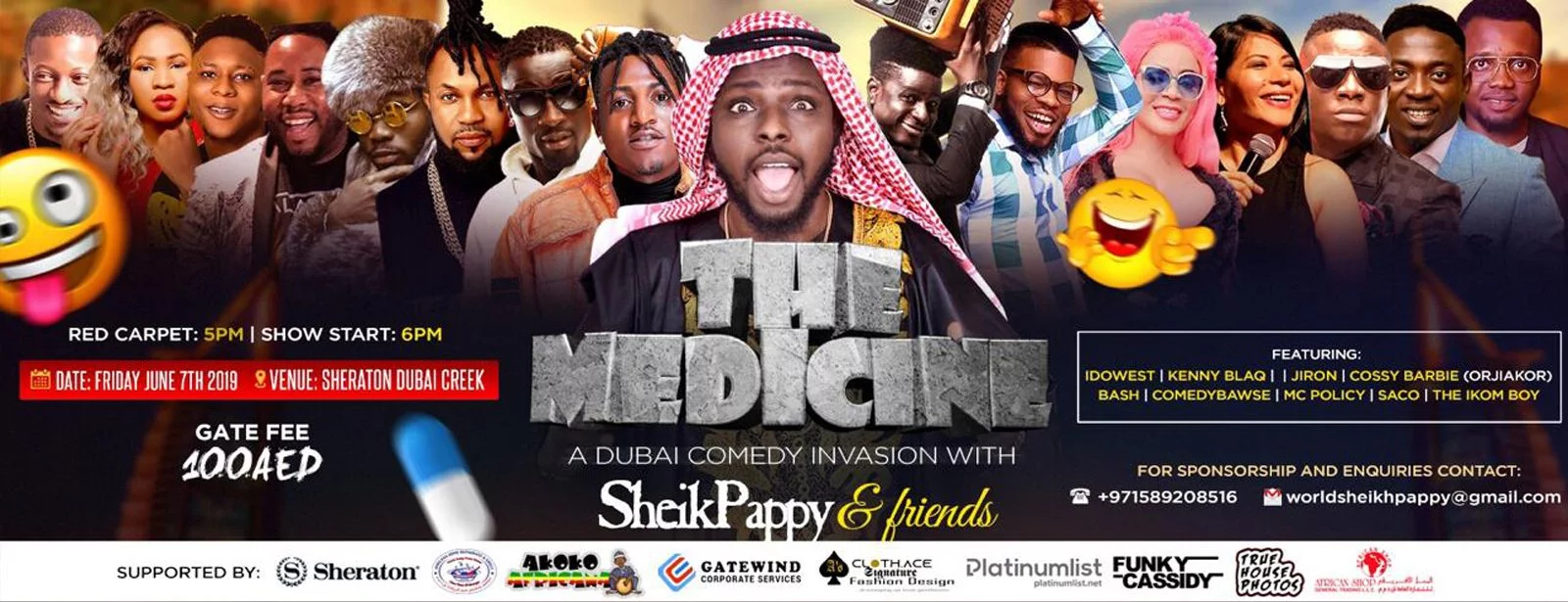 The Medicine: Sheik Pappy and Friends Dubai