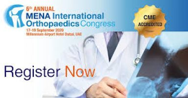 MENA International Orthopaedics Congress Dubai 2020