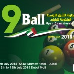 Middle East 9Ball Open Championship 2015 in Dubai