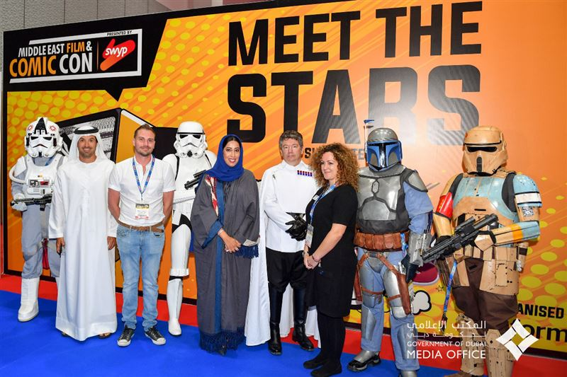 Middle East Film and Comic Con on Mar 5th – 7th at Dubai World Trade Centre