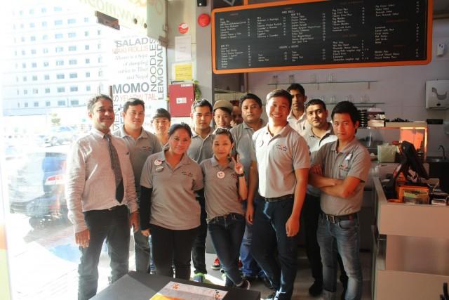 Moshi Staffs - Moshi restaurant Dubai