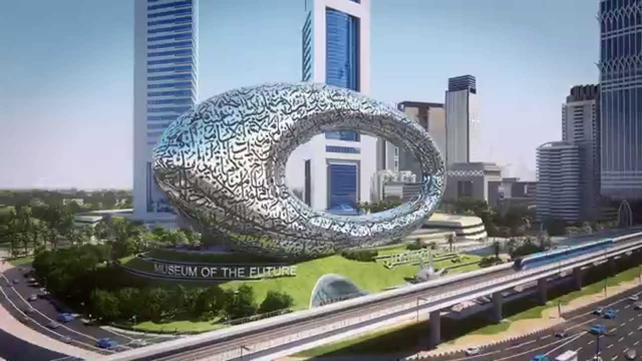 MUSEUM OF THE FUTURE Dubai, UAE.