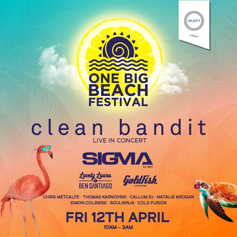 Music event One Big Beach Festival 2019 at Zero Gravity Dubai on 12th Apr