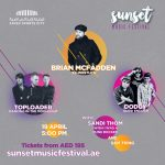 Music event Sunset Music Festival 2019, Abu Dhabi